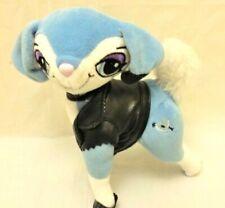 "Bratz Petz 7"" Gianna Dog Blue Stuffed Faux Leather Jacket Poseable No Purse"