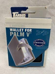 New Genuine Targus Palm Pilot (PDA) Leather Case/Wallet For Palm V, Vx CH055