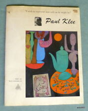Paul Klee Will Grohmann Library Of Great Painters Portfolio 1956 Softcover Book