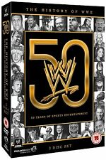 WWE: The History of WWE - 50 Years of Sports Entertainment [DVD]