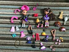 Huge Bundle Of Bratz Kidz Snap On Fashion Dolls, Walking Dog & Lots More....