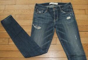 ABERCROMBIE & FITCH  Jeans pour Femme W 26 - L 31 Taille Fr 36 (Réf #S213)