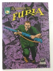 1972 SPANISH COMICS EL SARGENTO FURIA #125 SGT NICK FURY LA PRENSA MEXICO