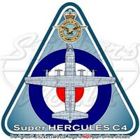 HERCULES C4 RAF Lockheed C-130J-30 British Royal AirForce UK Vinyl Sticker-Decal