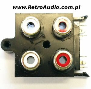 Technics SA-GX130 RCA JACK connector terminal SJF3069N - RetroAudio