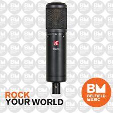 sE Electronics 2200 Studio Condenser Microphone w/ Shock Mount & Pop Shield