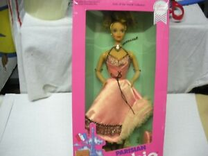 BARBIE PARISIAN DOLLS OF THE WORLD DOTW  #9843 1990 MATTEL NRFB SPECIAL EDITION