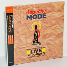 DEPECHE MODE The World We Live Hamburg Germany 1984 CD+DVD Digisleeve Japan OBI