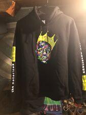 The Notorious Big Multicolor Hoodie Sweatshirt Mens Size M Medium Black Biggie