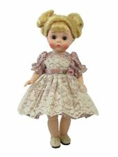 Ginny Doll Dress Flowers and Lace