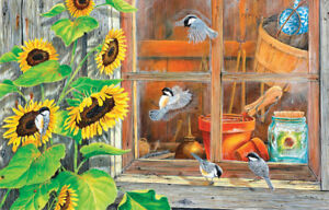 """Jigsaw Puzzle 15 Pieces Potting Shed for Seniors/Demintia/Alzheimer's 7""""x 10"""""""
