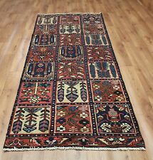 Persian Traditional Vintage Wool 250cmX100cm Oriental Rug Handmade Carpet Rugs