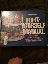 Fix It Manual Book Readers Digest