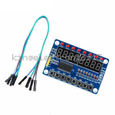TM1638 8-Bit LED 8-Bit Digital Tube 8 KeyS Display module for AVR Arduino ARM