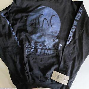 5 Seconds of Summer bamd hoodie XL