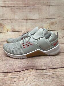 Nike Free x Metcon 2 Cross Training Shoes Platinum Red Gum AQ8306-061 Men's 12
