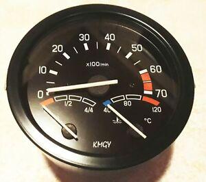 Drehzahlmesser Kombigerät 3in1 für 2-TAKT Wartburg 353 Barkas Melkus Rallye