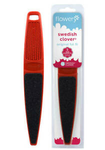 Swedish Clover Fot File By Flowery #530 The Original Foot File