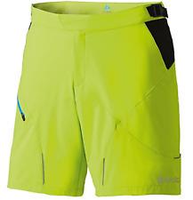 "Odlo Flo 14"" Shorts Amarillo Negro para Hombre Grande * REF102"