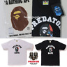 * A BATHING APE Men's x PREDATOR COLLEGE TEE 2colors From Japan New