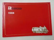 RIVAROSSI - CATALOGO GENERALE 1988 - HO FS