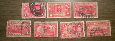 U S:  Parcel Post - Q 1 to Q 9 - from 1912 and 1913 - 7 stamps
