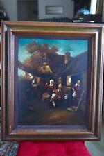 Imre Buvary Oil Painting, Original, SIGNED! (1960s), Rare Buvary subject!