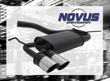 Novus SCARICO SPORTIVO GRUPPO N ESD 2x 76 mm SR-DESIGN PER 3er BMW e36 318 316
