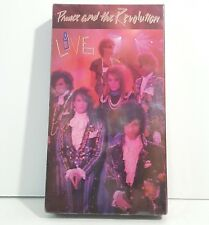 Prince and the Revolution Live VHS 1999 sealed New