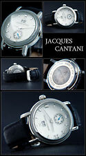 JACQUES CANTANI DECADE LARGE DATE SMALL SECONDS SALE PRICE Solid Steel