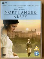 Northanger Abbey DVD 2007 Jane Austen TV Drama w/ Felicity Jones Carey Mulligan