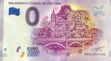 BILLET 0 EURO SALAMANCA CIUDAD DE CULTURA ESPAGNE  2019-1  N°  DIVERS