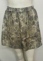 NEW LADIES MINI SKIRT MARKS & SPENCER LTD COLLECTION PATTERNED SIZE 10 12