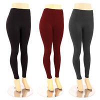 Women's Plus Size Fleece Lined Leggings Warm Winter