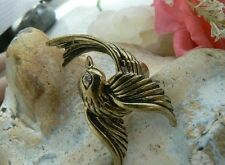Twisted Crystal Ring Vintage Quirky Steam punk unusual gift for her womens rare