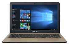 Asus X540 15.6 Inch Intel Celeron N3350 2.4GHz 4GB 1TB Windows 10 Laptop - Black