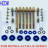 FOR Honda Acura K-series k20 K24 Engine Valve Cover Fender Washer Screw Bolts PP