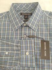 NWT Brand New MICHAEL KORS Men's TAILORED FIT Long Sleeve Shirt Sz M MSRP $145