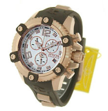 InvictA Brown  80365 Rose Gold Arsenal Reserve Chronogpaph Swiss Ret.$1895   NEW