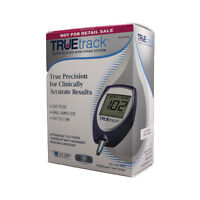 Truetrack Blood Glucose Monitoring System Complete kit Include 10 Test Strips