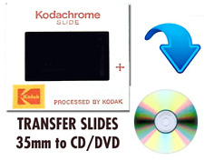 35mm Slide Photos to CD DVD transfer/conversion enhanced clean up) QTY 50-99