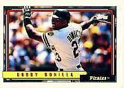 Bobby Bonilla Pirates 1992 Topps #160