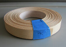 "Anigre Wood Edgebanding - 7/8"" x 75' roll  - Use for craft projects"