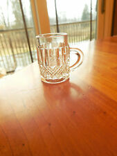 "EAPG - unknown mfg. ""Diamond Band Variant"" crystal mug"