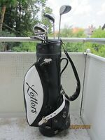 Callaway Great Big Bertha Titanium 5-S,Hölzer 1,3,7, Bobby Jones, Letters Bag.