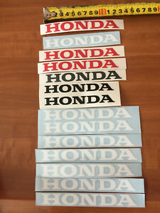 Honda stickers decals lot 14 pcs car motorcycle window bumper vinyl graphics jdm