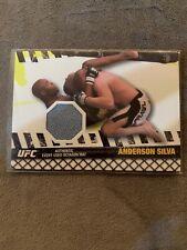 Anderson Silva Fight Mat Relic 2010 Topps UFC Series UFC 67