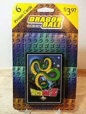 DRAGON BALL Z DBZ CCG X1 SEALED PROMO BLISTER PACK 2006 SCORE 6 CARDS SUPER RARE