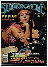 SUPERCYCLE MAY 1977 VOL 1 NO 2 CONTENTS CUSTOM BIG BIKE STREET CHOPPERS MAGNETOS