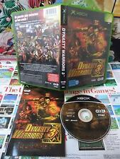 Xbox:Dynasty Warriors 3 [TOP KOEI & 1ERE EDITION] COMPLET - Fr